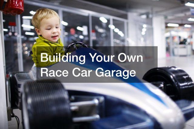 race car garage designs